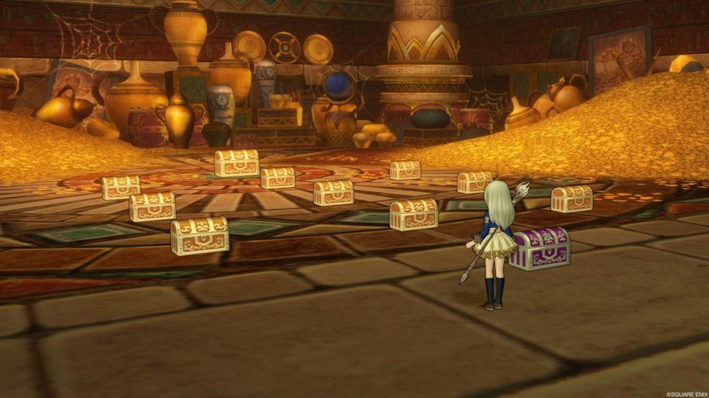 ドラクエ10 これ全部、もらっちゃっていいんですか?~ファラオの財宝『秘密の宝物庫』