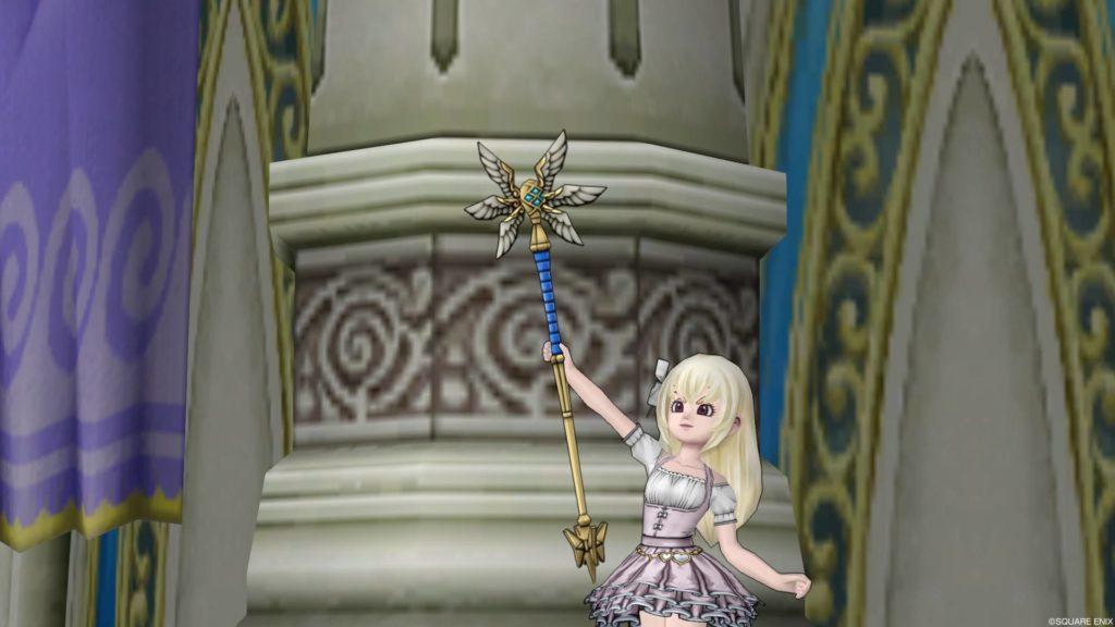 ドラクエ10 Lv99武器『神域の杖(両手杖)』