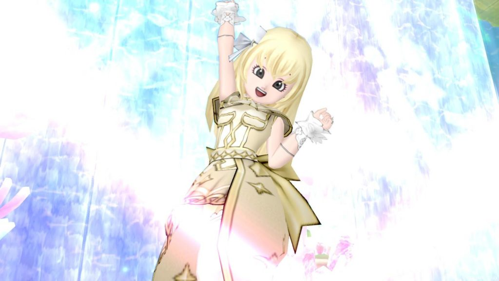 ドラクエ10『夢の王国のドレス』セットのドレアしてみたよ♪