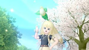 インコ可愛い♪この可愛らしさを伝えたい☆【ドラクエ10】